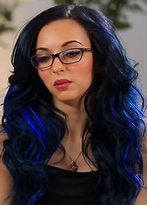 Black And Blue Hairstyles Definitely Not For The Faint