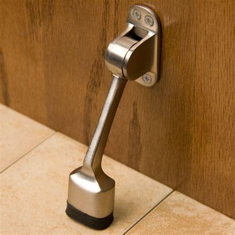 solid brass kick  doorstop hardware