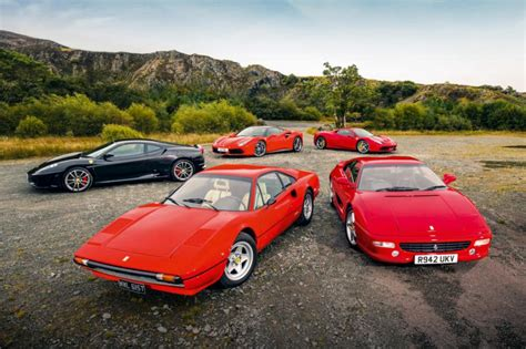 Top 5 Greatest Ever V8 Ferraris Revealed  Pictures Auto
