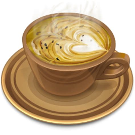 Great selection of coffee clipart images. Brown Cup Of Heart Coffee Icon, PNG ClipArt Image | IconBug.com