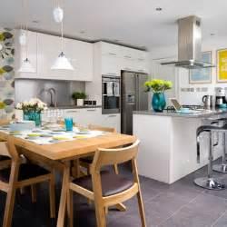 granite floor tiles kitchen flooring ideas 10 of the best housetohome co uk - Kitchen Diner Flooring Ideas