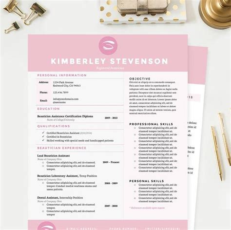 makeup artist cv template makeup artist resume cover letter reference template package janna hagan