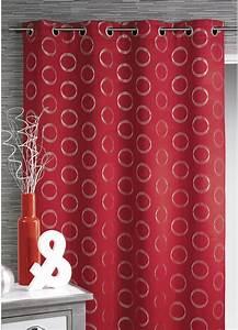 Rideau Rouge Et Noir : rideaux rouge et noir finest x cm ray horizontal toile tissu pour rideaux stores vert rouge ~ Teatrodelosmanantiales.com Idées de Décoration