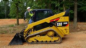 How To Hook Up A Work Tool Attachment  Cat U00ae Skid Steer