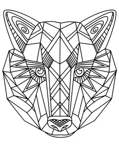 animals coloring pages  adults justcolor page