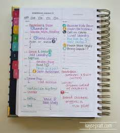 25 best ideas about simplified planner on