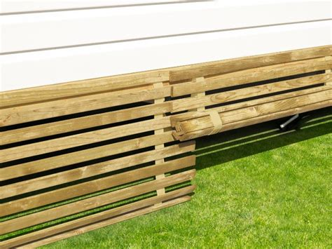 meuble cuisine caravane terrasse clairval soubassement bois relevable sur sangles