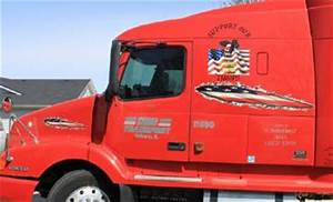 auto graphics With semi truck lettering and graphics