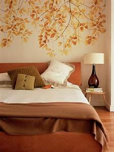 31 cozy and inspiring bedroom decorating ideas in fall for Bedroom wall decor ideas