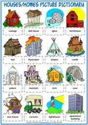 pictionary  types  houses