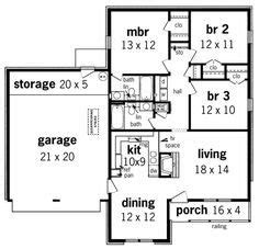 cool floor plans   sq ft home  home plans design