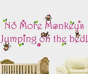 Wall decal best 20 no more monkeys jumping on the bed for Best 20 no more monkeys jumping on the bed wall decal