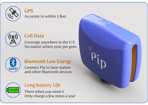 Pip Pet Gps Tracker Launches On Kickstarter (video