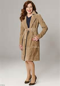 dress coat marks spencer 39 s suede khaki trench coat is the coat