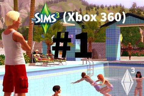 The Sims 3 Divano Ad Angolo : The Sims 3 Xbox W/howtocameron- Part 1- Starting Life