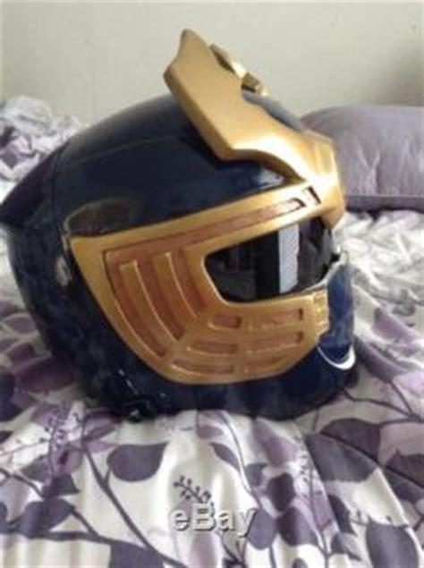 power rangers ninja storm navy thunder helmet costume