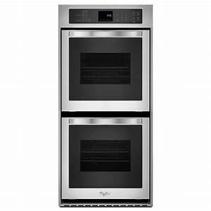 Whirlpool 24 In  Double Electric Wall Oven Self