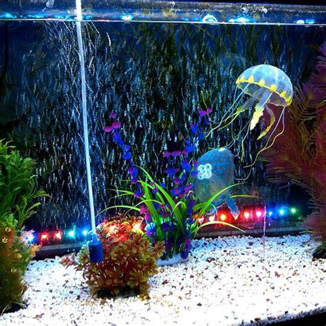5 colour a set for artificial jellyfish fish aquarium decoration 5cm us 10 95 sold out