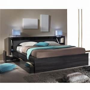 Lit 140 Avec Rangement : lit 140 tiroir rangement pas cher comparer les prix avec ~ Teatrodelosmanantiales.com Idées de Décoration