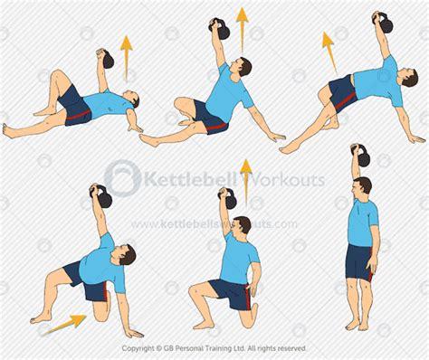 kettlebell turkish exercise workout exercises ab snatch abs workouts kettlebellsworkouts minute