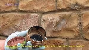 Beton Pflanzkübel Als Mauer : mauer in steinoptik aus beton streichen youtube ~ Udekor.club Haus und Dekorationen