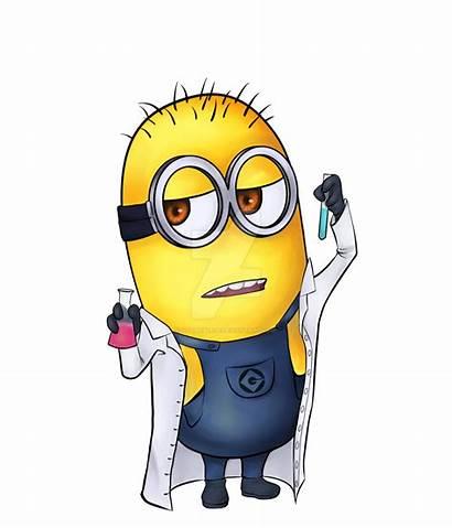 Minion Scientist Minions Science Deviantart Despicable Chemistry