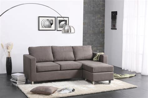 sofa for small living room modern minimalist living room design with gray microfiber