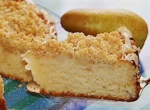 Sahne Birnen Kuchen mit Streuseln von sandy07