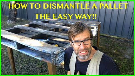 dismantle  pallet  easy   great