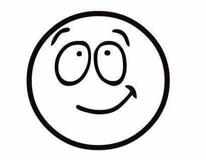 Emoji Coloring Pages Smile Half
