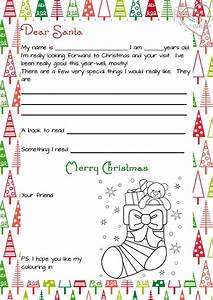 3 piece printable christmas letter from santa love a With christmas letter to santa claus