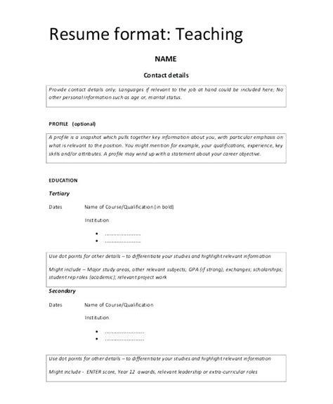 biodata format application pdf resume normal sle