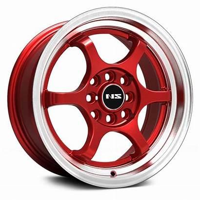 Wheels Ns Lip Series Machined Rims 1202