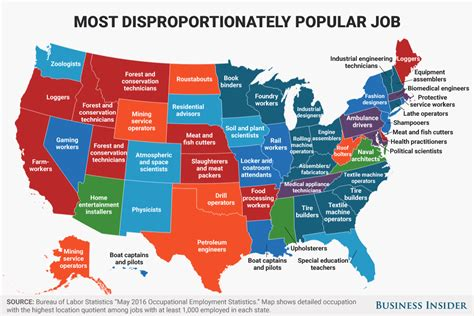 disproportionately popular in every state map