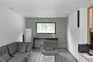 ba13 decoration salon 2016 With deco papier peint salon