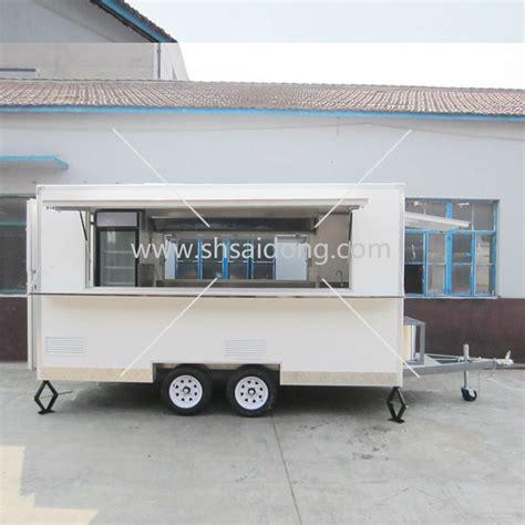 camion cuisine mobile bonne qualité restauration rapide caravan voiture