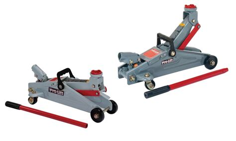 Pro-lift Gray Hydraulic Floor Jack With 2-ton (4000 Lb