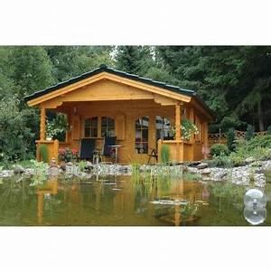 Chalet En Bois Habitable 20m2 : chalet en bois mississippi 20m2 terrasse couverte ~ Dailycaller-alerts.com Idées de Décoration