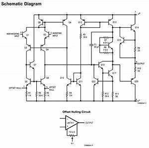 Lm741 Pdf Datasheet - Operational Amplifier