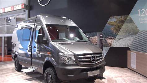 Mercedes Benz Sprinter 4x4 Camper Van At Caravan Salon