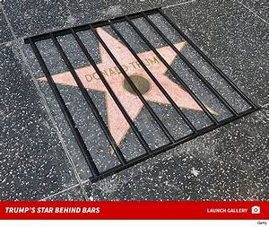 Donald Trump Gets Prison Bars Treatment on Hollywood Walk ...