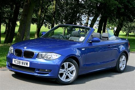 bmw serie 1 cabriolet bmw 1 series convertible from 2008 used prices parkers