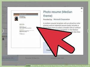 how to write a resume for free using microsoft word resume With how to use microsoft word