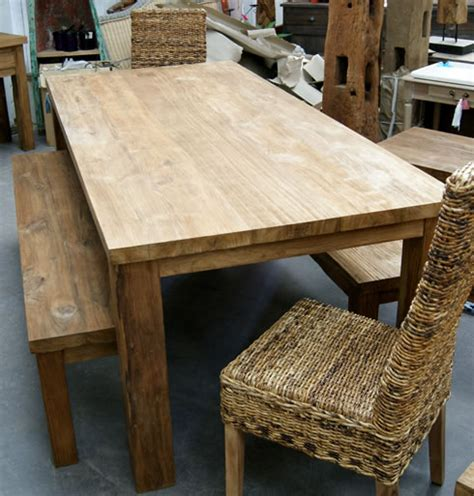 reclaimed teak wood table chairs teak wood furniture