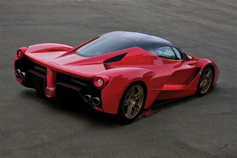 New Ferrari Enzo Successor Rendering