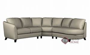 alula leather chaise sectional by palliser is fully With sectional sofa with angled chaise