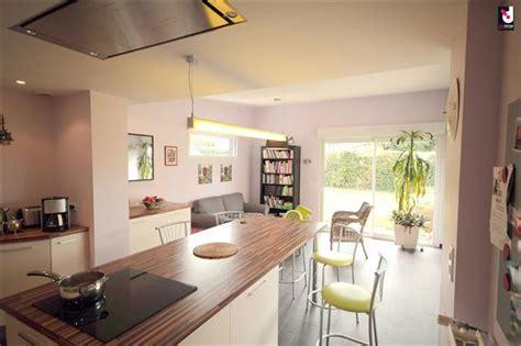 cuisine ouverte ilot cuisine ouverte ilot central cuisine en image