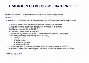 Hermosa Hojas De Trabajo De Recursos Renovables Y No Renovables ...