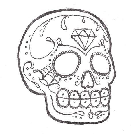 Sugar Skull Tattoo Elizabeth Chamberlin Flickr