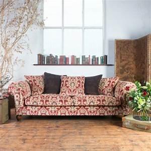 canape anglais chester 3 places elgar en tissu longfield With tapis bébé avec canapé anglais tissu